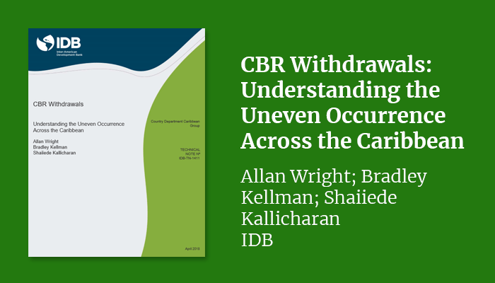CBR Withdrawals: Understanding the Uneven Occurrence Across the Caribbean