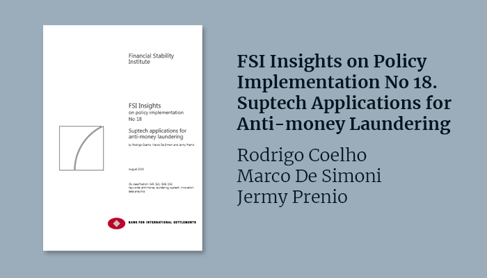 FSI Insights on Policy Implementation No 18. Suptech Applications for Anti-money Laundering