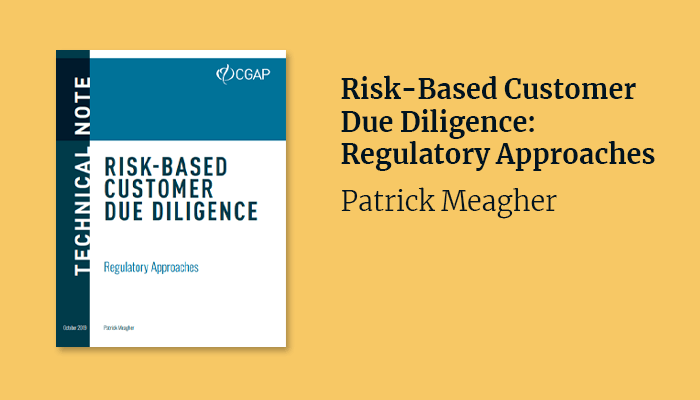 Risk-Based Customer Due Diligence: Regulatory Approaches